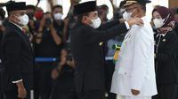 Gubernur Sumut, Edy Rahmayadi, melantik Akhyar Nasution sebagai Wali Kota Medan definitif (Istimewa)