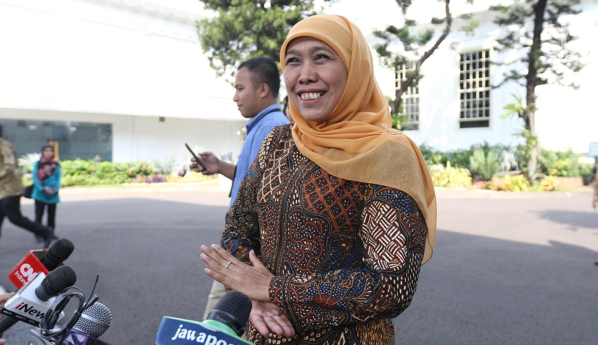 Gubernur Jawa Timur, Khofifah Indah Parawansa l Sumber: liputan6.com
