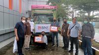 PT Bank Negara Indonesia (Persero) Tbk atau BNI memberikan bantuan penanganan bencana, dengan menyalurkan bantuan kemanusiaan di kawasan bencana gempa bumi Mamuju, Sulawesi Barat dan sekitarnya. Dok BNI