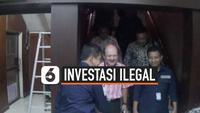 Cucu mantan presiden Suharto Ari Sigit Suharto mendatangi Mapolda Jatim. Kedatangannya untuk diperiksa sebagai saksi kasus investasi ilegal MeMiles  yang dikelola PT Kam and Kam.