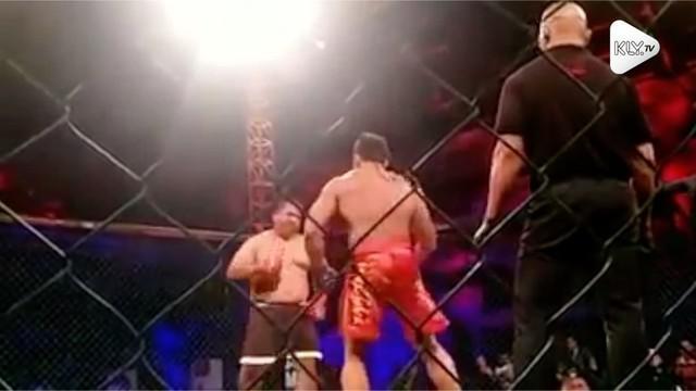Ranoe Gusffi berhasil meraih gelar juara Heavyweight MMA usai mengalahkan atlet asal Filipina yang memiliki badan kekar, yakni Mark Palomar.