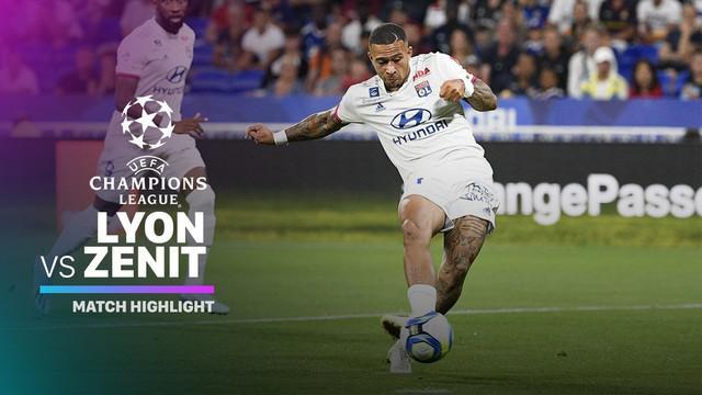 Berita video highlights Liga Champions 2019-2020 antara Lyon melawan Zenit St. Petersburg yang berakhir dengan skor 1-1, Selasa (17/9/2019).