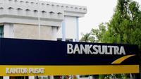 Kantor Bank Sultra pusat di Kendari.(Foto dok. Bank Sultra)