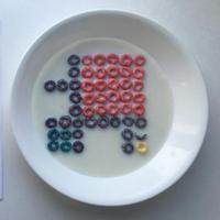 Objek visual dari bahan makanan. (via: Instagram/@witenry)