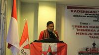 Ketua Umum DPP Gerakan Mahasiswa Nasional Indonesia (GMNI), Arjuna Putra Aldino. (Istimewa)