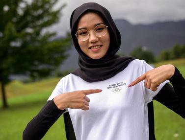 Foto: Kisah Perjuangan Masomah Ali Zada, Seorang Pengungsi Afganistan yang Akan Balapan di Olimpiade Tokyo 2020 Demi Kemanusaiaan