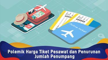 Polemik Harga Tiket Pesawat dan Penurunan Jumlah Penumpang