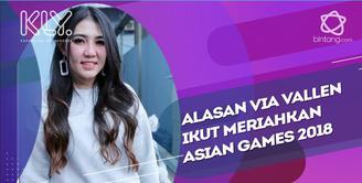 Begini Persiapan Via Vallen menyambut Asian Games 2018