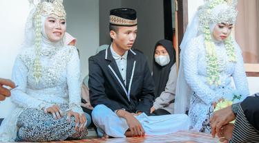Viral Pria di Lombok Nikahi Dua Wanita Sekaligus, Curi Perhatian Warganet