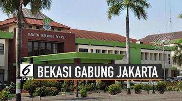 Wacana Bekasi gabung Jakarta tengah santer diperbincangkan. Hal itu pun menimbulkan berbagai tanggapan dari berbagai pihak.