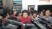 Ketua DPP PDIP, Maruarar Sirait mengatakan PDIP masih solid di rumah Mega, Jl Teuku Umar, Menteng, Jakarta Pusat, Selasa (15/4/2014).