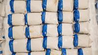 Heroin di tumpukan handuk di Inggris. (National Crime Agency./Twitter)