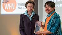 Wendi Tamariska meraih penghargaan tertinggi Whitley Award 2019 (Sumber: Dok. Pribadi Wendi Tamariska)