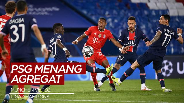 Berita Video Highlights Liga Champions, Bayern Munchen Gagal Melangkah ke Semifinal Usai Kalah Agregat dari PSG