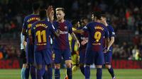 Barcelona juara Liga Spanyol 2017-2018 (Pau Barrena / AFP)