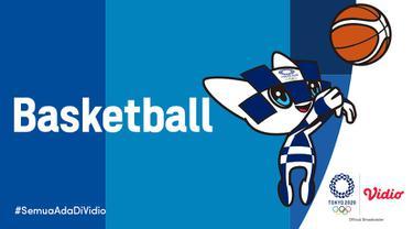 Banner Basket Olimpiade Tokyo 2020