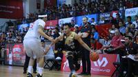 CLs Knights Indonesia dipastikan tak akan bisa lolos ke babal playoff usai takluk 86-144 dari Saigon Heat. (CLS Knights)