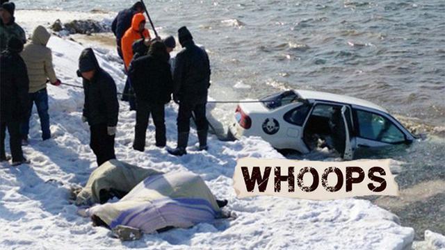 Sepasang kekasih berpelukan dan ditemukan telah meninggal dalam mobil mereka yang tenggelam di perairan Songhua, Jilin, China Mobil ditemukan dekat sungai yang sedang diliputi banyak salju di pinggirnya.Keduanya dalam posisi berpelukan erat bahkan sa...