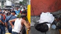 (Foto : Pilipino News) Penemuan potongan kepala yang terbungkus kain putih bikin geger warga di salah kota metropolitan Manila.
