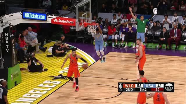 Berita video game recap NBA All Star 2018 Mtn Dew Kickstart Rising Stars