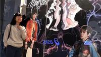 Cinta Kuya mengaku kalau tampilan barunya terisnpirasi dari gaya selebritas Korea dan Jepang