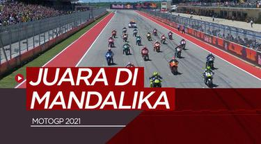 Berita video prediksi dari pengamat F1 dan MotoGP, Arief Kurniawan, soal prediksinya pembalap yang akan menjadi juara di sirkuit Mandalika, Indonesia, pada 2021.