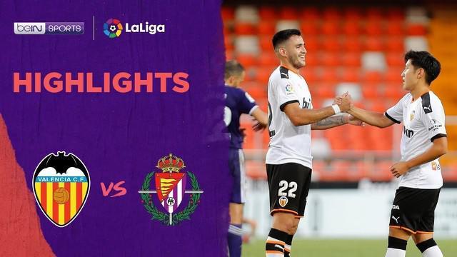 Berita video melihat gol fantastis pemain Korea Selatan, Lee Kang-in, dalam highlights laga La Liga pekan ke-35 antara Valencia melawan Real Valladolid, Rabu (8/7/2020) dini hari WIB.