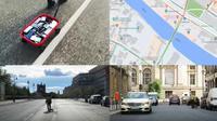 Seniman Ubah Jalan Raya yang Lancar Jadi Macet di Google Maps. Dok: YouTube