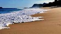 Kabupaten Lembata, NTT, memiliki sejuta wisata indah. Salah satunya adalah Pantai Mingar. (Liputan6.com/Ola Keda)
