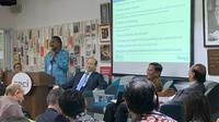 Dr. N. Paranietharan, selaku perwakilan WHO untuk Indonesia dalam acara diskusi di Bengkel Diplomasi FPCI, Senin, 24 Februari 2020. (Liputan6.com/ Benedikta Miranti T.V)