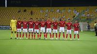 Timnas Indonesia harus kalah dari tuan rumah Uni Emirat Arab (UEA) dengan skor 0-5 di Stadion Zabeel, Dubai, Jumat (11/6) malam waktu setempat. (Foto: Dok. PSSI)