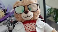 Boneka Beruang (Sumber: Twitter/CBCDeborahGoble)