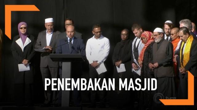 Hari ini digelar upacara peringatan teror penembakan masjid di Christchurch, Selandia Baru. Nama ke-50 korban tewas dibacakan dalam suasana haru dan hening.