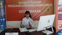 Juru Bicara Gugus Tugas Percepatan Penanganan Covid-19 Kota Tarakan dr Devy Ika Indrianti.