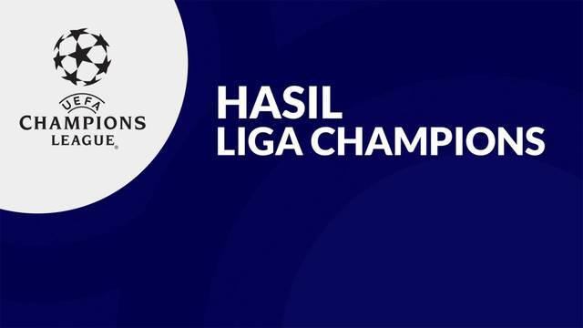 Berita Video, Hasil Pertandingan Matchday Ketiga Liga Champions 2021/2022 yang Berlangsung pada Rabu (20/10/2021)