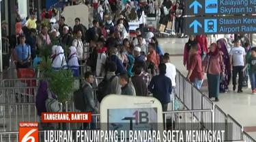 Data Angkasa Pura II selaku pengelola Bandara Soekarno-Hatta, untuk ekstra flight hingga Jumat siang sudah ada delapan penerbangan.