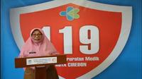 Sekretaris tim gugus tugas percepatan penanganan covid-19 Kota Cirebon meminta warga kedepankan sikap jujur dan kasih sayang ditengah untuk memutus rantai penyebaran covid-19. Foto (Liputan6.com / Panji Prayitno)