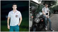 Aktor Indonesia Kenakan Seragam SMA. (Sumber: Instagram.com/celine_evangelista/marcelldarwin)