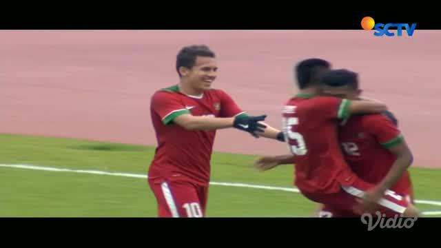 Gol pamungkas Egy Maulana tutup kemenangan Timnas Indonesia U-19 di laga Piala Asia U-19 2018 dengan skor 5-0 atas Timor Leste.