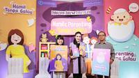 Sandra Dewi hadir pada acara peluncuran buku Hamil Tanpa Galau di Gramedia Matraman pada Rabu, 26 Juni 2019. Dalam kesempatan itu, Sandra Dewi bercerita soal kehamilannya (Foto: Liputan6.com/Febrianingsih Alamako)
