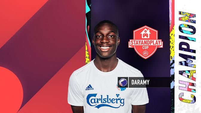 Penyerang sayap asal F.C. Copenhagen, Mohamed Daramy. (Doc: EA)