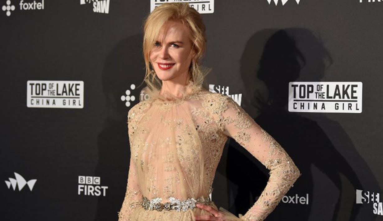 Nicole Kidman, bukan artis pendatang baru di jagat hiburan. Telah banyak pengalaman yang ia dapatkan selama berkecimpung menjadi seorang selebriti. Ia pun sudah bisa memahami masalah yang  menghadangnya. (AFP/Saeed Khan)