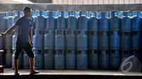 PT Pertamina akan menaikkan harga gas elpiji 12 kg pada pertengahan Agustus 2014, dan akan terus dilakukan sampai mencapai harga keekonomian secara bertahap hingga 2016, Jakarta, Rabu (13/8/2014) (Liputan6.com/Miftahul Hayat)