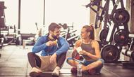 Ilustrasi makan setelah olahraga (sumber: iStockphoto)