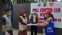 Pasien Covid-19 Sembuh Usai Menjalani Isolasi Mandiri Di Kota Cilegon, Banten. (Minggu, 01/11/2020). (Yandhi Deslatama/Liputan6.com)