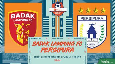Badak Lampung FC Vs Persipura Jayapura