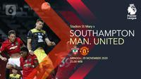 Southampton vs Manchester United(Liputan6.com/Abdillah)