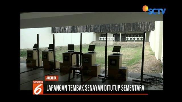 Lapangan Tembak Senayan ditutup sementara untuk proses penyelidikan dan penyidikan kasus peluru nyasar ke DPR.