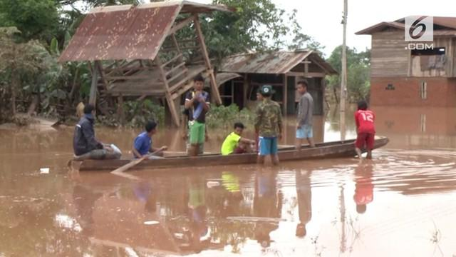 Banjir akibat bendungan jebol di Laos terus memakan korban. Tercatat 26 orang tewas akibat banjir, dan hingga kini 131 orang dilaporkan hilang.