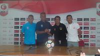 PSPS Riau akan menjalani laga berat saat menantang tuan rumah Persis Solo pada lanjutan Grup Barat Liga 2 2018, Minggu (29/4/2018). (Bola.com/Ronald Seger Prabowo)